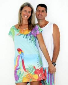 Camisola Tropical adulto