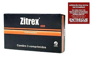 Zitrex 500mg - 3 comprimidos