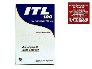 ITL 100mg Cepav 10 Cápsulas