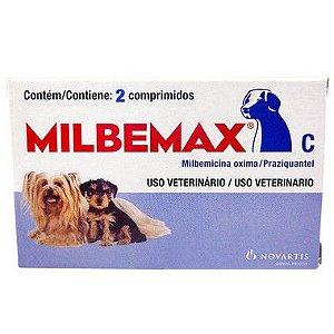 Milbemax Novartis para Cães até 5kg