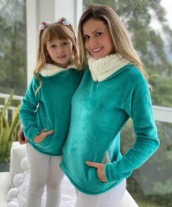 Fofinho Mãe e Filha Tiffany Zíper