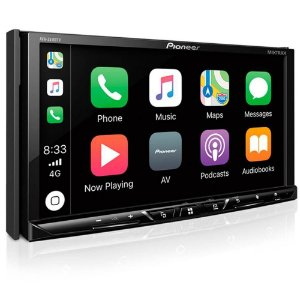 DVD Player Pioneer AVH Z5180TV 7 Polegadas USB Bluetooth TV Digital Apple CarPlay Android Auto