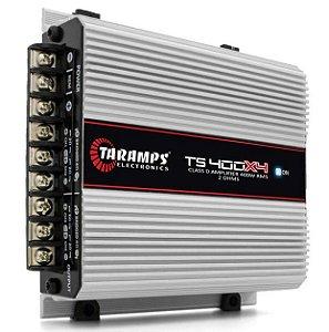 Módulo Amplificador Taramps TS400x4 400W RMS 2 Ohms 4 Canais