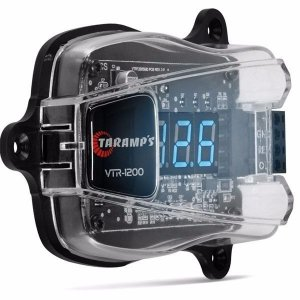 Voltímetro Digital Taramps VTR-1200 Digital Com Saída Remote Display LED Azul