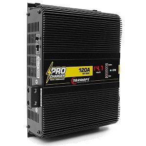 Fonte Automotiva Taramps 120A Pro Charger 1700W Carregador Bateria Voltímetro Bivolt Automático