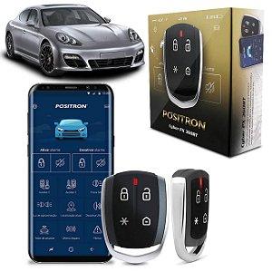 Alarme Automotivo Pósitron PX360BT Bluetooth Universal Bloqueio e Desbloqueio Via Celular