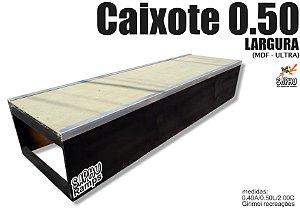 CAIXOTE PARA SKATE DE MADEIRA SAPHU 0.50 MDF ULTRA  (40A /2.00C /0.50L)