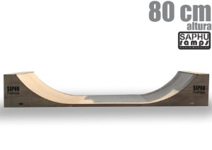 RAMPA SKATE MINI RAMP 80 (QUARTER PIPE)