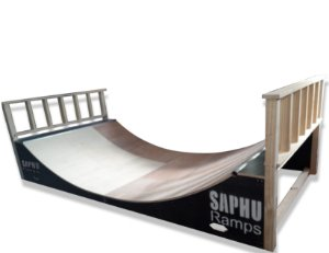MICRO RAMP 45 SKATE DE QUARTO (MINI RAMP)