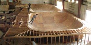 SKATE WOODEN BOWL BUILDING PROJECT