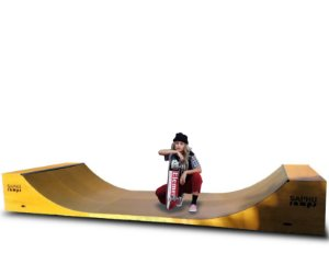 MINI RAMP SKATE 80 MONSTRA  SAPHU RAMPS