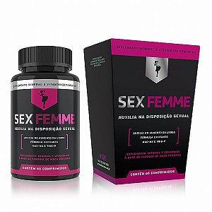 Disposição Sexual Feminina Sex Femme - 60 Comprimidos