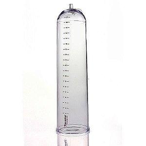 Cilindro Em Acrílico Transparente para Desenvolvedor Peniano Manual ou Elétrica