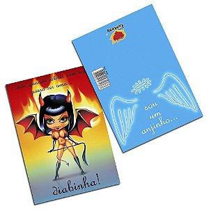 Cartão Sou Um Anjinho 05 Unidades Sexy Fantasy