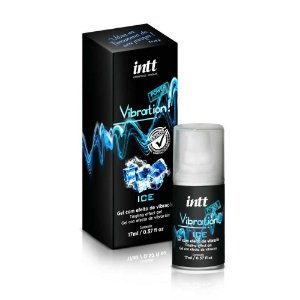 Vibration Ice Gel Excitante Beijável 17g Intt
