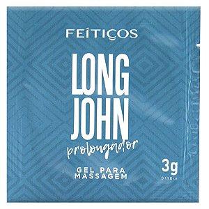 Sachê Long John Prolongador de Ereção 3g Feitiços