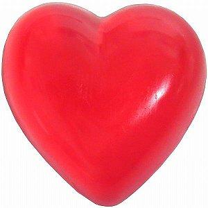 Mini Sabonete Decorativo em formato de Coração - Vermelho