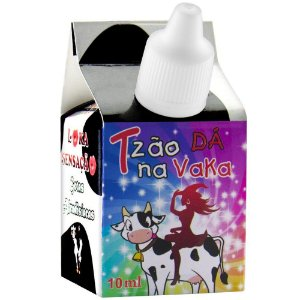 Tesão de Vaca Gotas Excitantes 10ml Loka Sensação