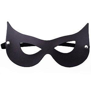 Máscara Mulher Gato Preta Dominatrixxx