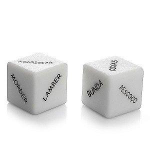Dado com Caixinha Cubos do Amor - Embalagem com 02 Unidades