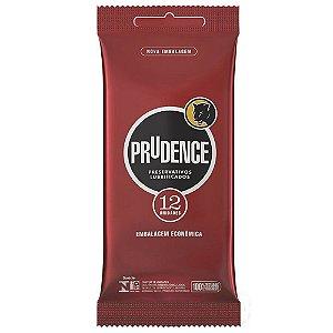 Preservativo Lubrificado Com 12 Unidades Prudence