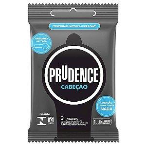 Preservativo Cabeção Com 3 Unidades Prudence