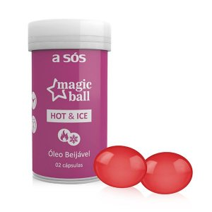 Cápsula Magic Ball Sensual Ice e Hot - 02 Unidades