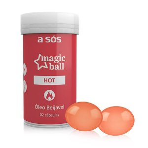 Cápsula Magic Ball Sensual Hot - 02 Unidades