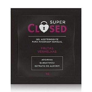Gel Adstringente Super Closed - Sachê 5g