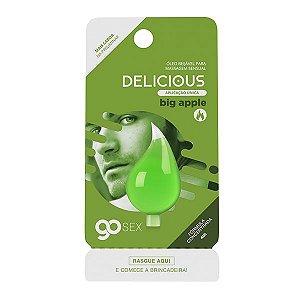 Gel Comestível Go Sex Delicious Big Apple Aplicação Única - 4ml