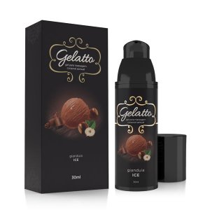 Gel Lubrificante Beijável Gelatto Gianduia - 30ml