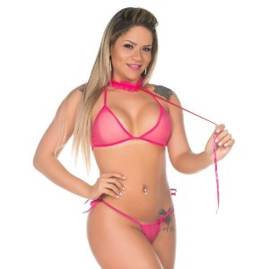 Kit Fantasia Pimentinha Gatinha Pimenta Sexy