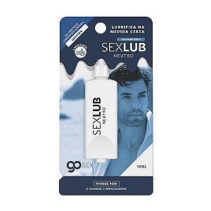 Gel Lubrificante Go Sex Neutro SexLub Aplicação Única - 10ml