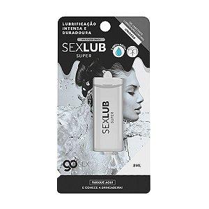Gel Lubrificante Go Sex Super SexLub Aplicação Única - 10ml