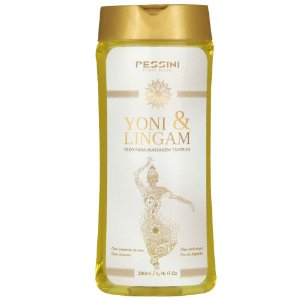 Yoni & Lingam Óleo Massagem Tântrica 200ml Pessini