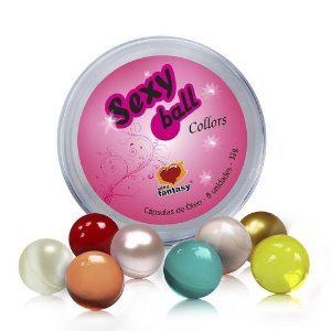 Sexy Ball Collors Kit 08 Bolinhas Sexy Fantasy