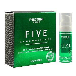 Five Óleo Afrodisiáco Estimulante 15g Pessini