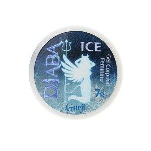 Diaba Ice Excitante Feminino Pote 7g Garji