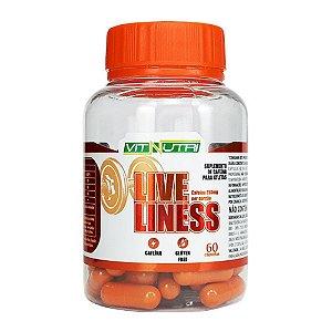 Liveliness Suplemento de Cafeína para Atletas 60 Cápsulas Vitnutri