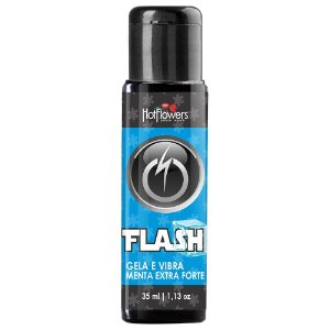 Flash Gela e Vibra Menta Extra Forte 35ml Hot Flowers
