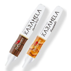 Caneta Hot Pen Karamela Comestível 35g Hot Flowers