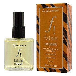 Fatale Homme Colônia Afrodisíaca Spray 30ml Sofisticatto