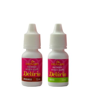 Delírio Excitante Aromático Hot 10ml Sofisticatto