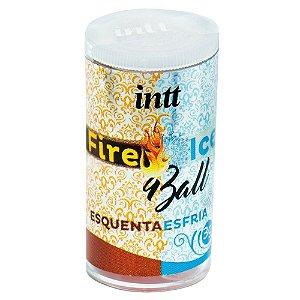 Fire Ice Ball Bolinha Funcional 02 Unidades Intt