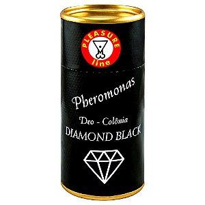Diamond Black Deo Colônia Masculina Pheromonas 20ml Pleasure Line