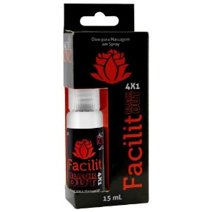 Facilit Jatos Blackout 4x1 Anestésico Anal 15ml Soft Love