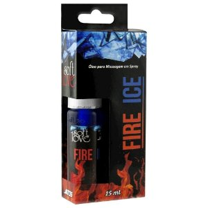 Fire Ice Jatos Esquenta Esfria 15ml Soft Love