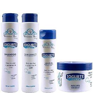 Iogurte Capilar Kit Shampoo Valentine Hair