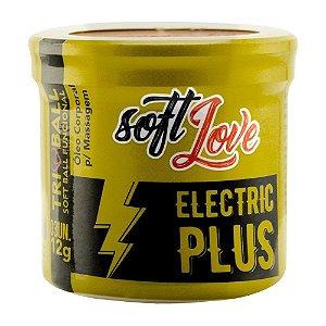 Triball Bolinha Eletric Plus 12g 03 Unidades Soft Love