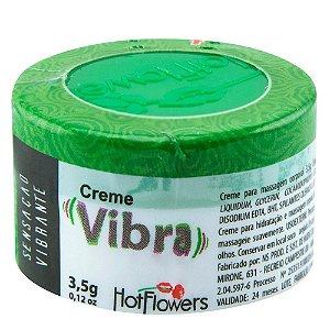 Vibra Creme Funcional 3,5g Hot Flowers